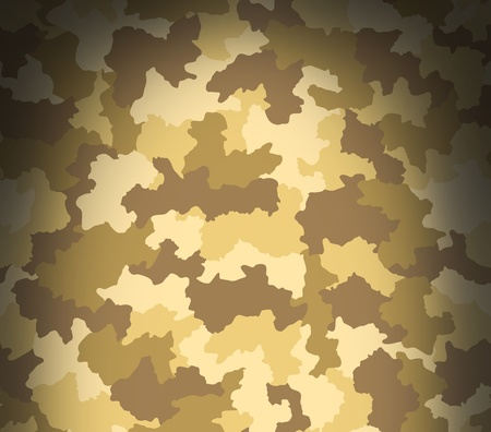 Desert camouflage pattern texture dramatically from above photo