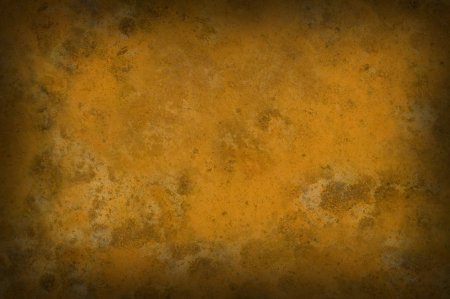 vignetted: Rusty grungy background texture vignetted