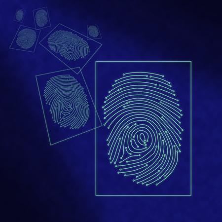criminal justice: Electronic digital fingerprint processing