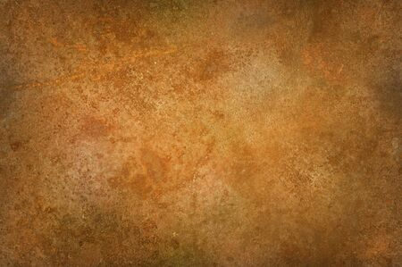 Grungy distressed rusty surface texture