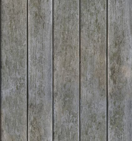 tileable: Grayish weathered vertical wood texture background seamlessly tileable Stock Photo