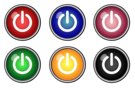 poweron: Six power-on buttons switch graphics