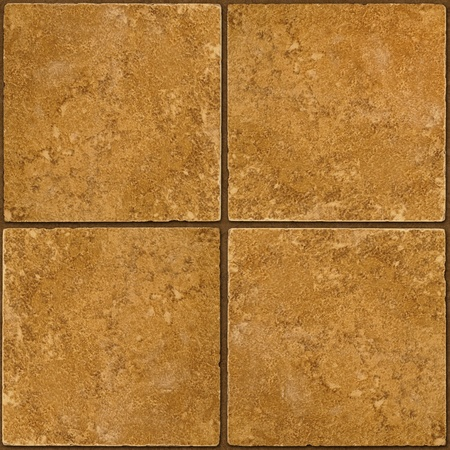 tileable: Four ceramic brown stone tiles seamlessly tileable