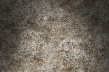 distressed: Distressed gray metal surface texture lit from above