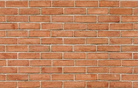 tileable: Red brick wall background texture seamlessly tileable Stock Photo