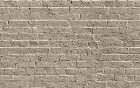 Beige painted brick wall seamlessly tileable background texture
