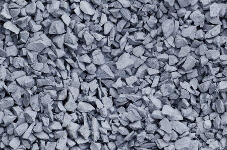 bluish: Bluish gray gravel used for construction fill, seamless background texture