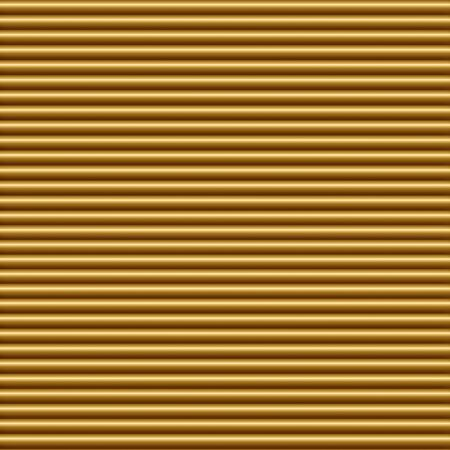 tileable: Horizontal gold tube background texture seamlessly tileable