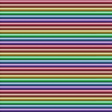 Horizontal multicolored tube background texture seamlessly tileable