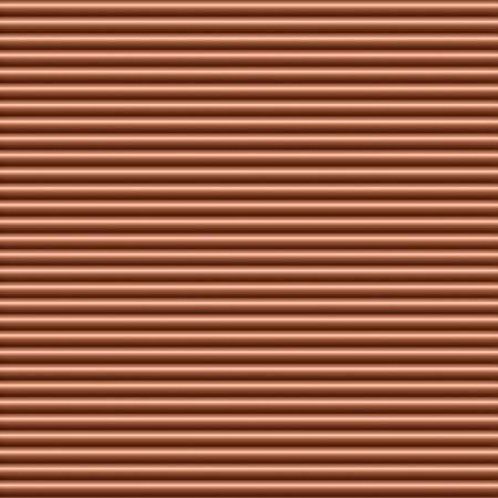 horizontal: Copper horizontal tubing background texture seamlessly tileable