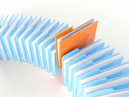 Folder icon on a white background