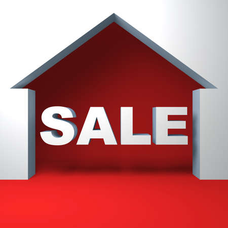 House for a sale Stock Photo - 9029582