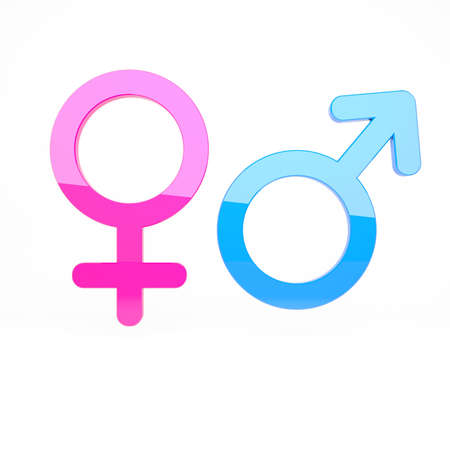 male symbol: Male and female signs