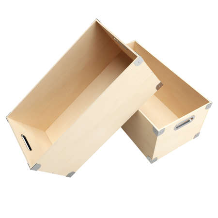 plywood: Two boxes from plywood for things