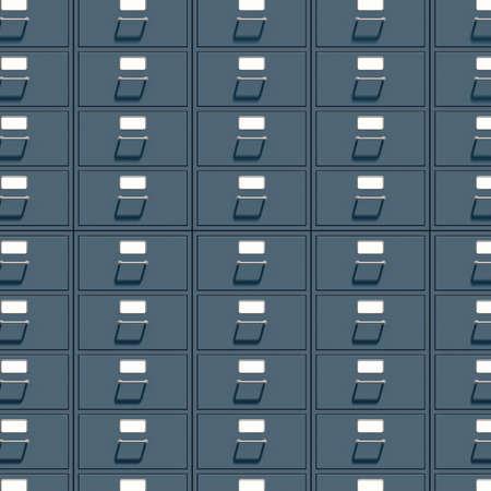 filing cabinet: Filing cabinet for documents  3d render illustration