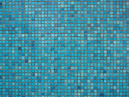 blue tile background pattern  Stock Photo