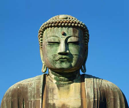 statue of Buddha in Kamakura, Japan   Stock Photo