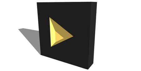 pushbutton: 3D next icon
