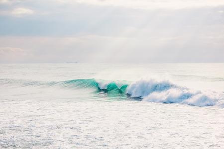 A Perfect big breaking Ocean wave