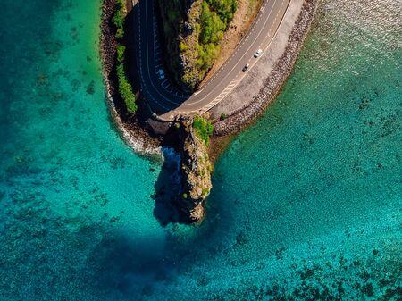 Maconde Aerial View. Cape in Mauritius Island