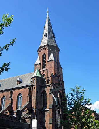 Vor Frue Kirke in Aarhus (Denmark)