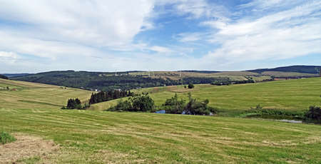 erzgebirge: Panorama of the Erzgebirge