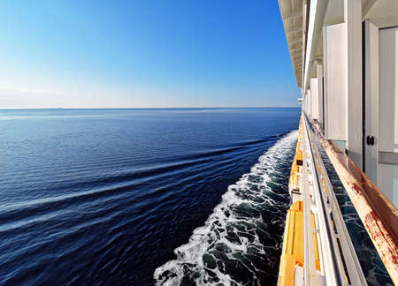 stateroom: Trip across the sea on a cruise ship