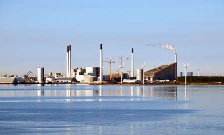 Incineration plans Amager Slope (Amager Bakke) in Copenhagen, Denmark