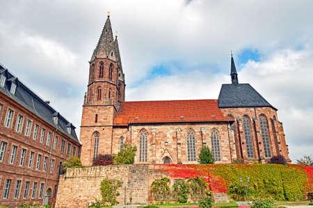 St. Marys Church in Heilbad Heiligenstadt (Thuringia  Germany)