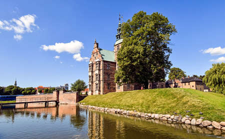 Copenhagen, Denmark? July 15, 2017: Rosenborg Castle at the Danish capital Copenhagen 新聞圖片