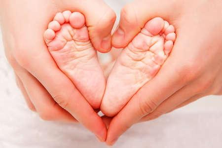 Baby s feet photo