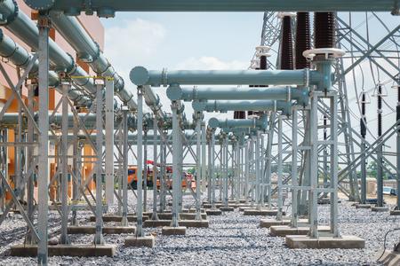 Kraftwerk für die Herstellung von Elektrizität.
