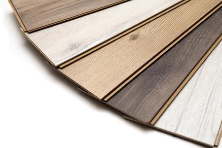 木材、積層のフロアー リング。スタジオ写真。 写真素材