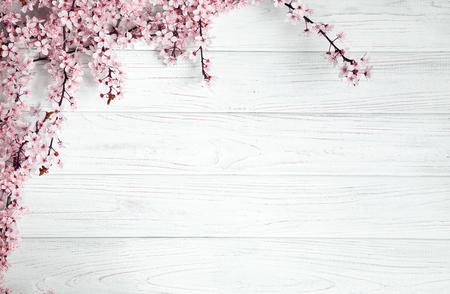 果樹木白地花。