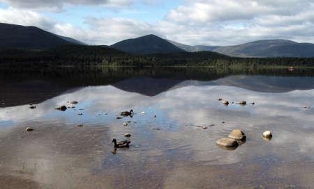 loch: Loch Morlich Stock Photo