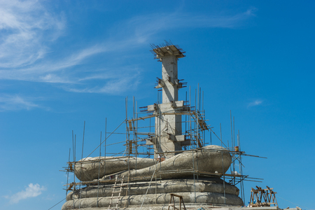 buddism: Construction Buddha in Thailand