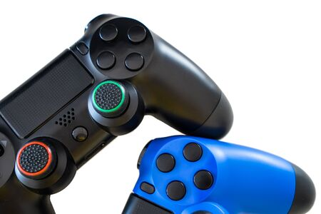 joypad: video game controller isolated on white background Stock Photo