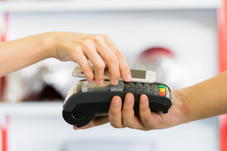 paying through smartphone using NFC technology
