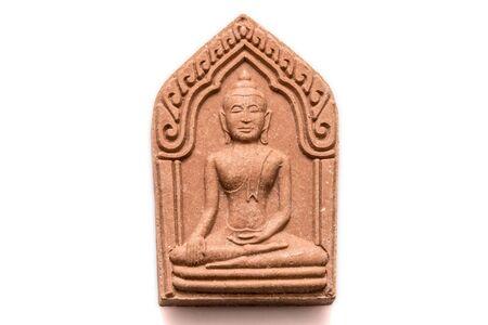 dogma: Small buddha image used as amulet Stock Photo