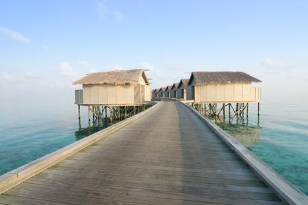 maldives island: Maldives island, water villas resort