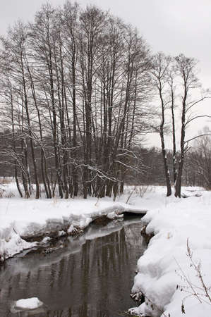 Winter landscape in Izmaylovskiy park in Moscow. Stock Photo - 621919