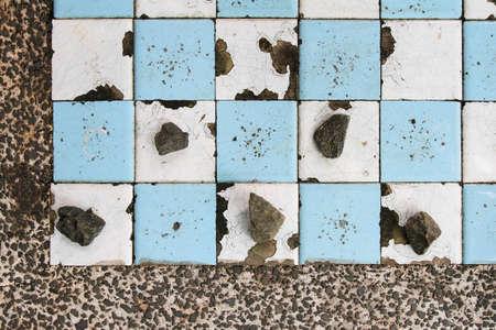 onrush: Checker country style Stock Photo