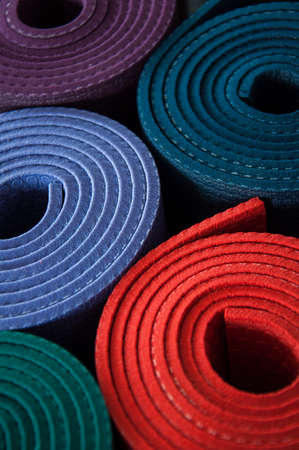 Yogamat Stockfoto - 58402703