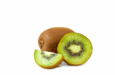 Kiwi fruit isolated on a white background Reklamní fotografie