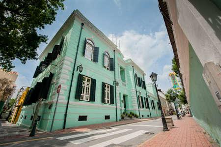 bioedilizia: bioedilizia a Taipa vecchio villaggio, Macau