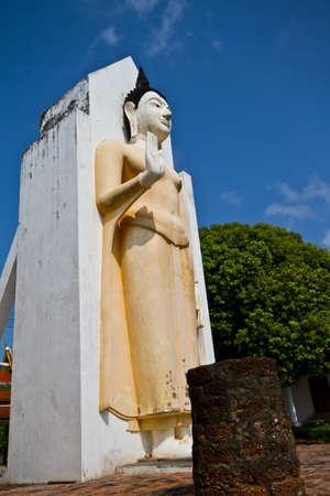 Standing Buddha statue Stock Photo - 15469146