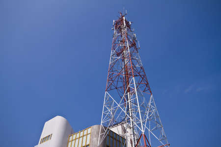 Mobile phone communication tower  photo