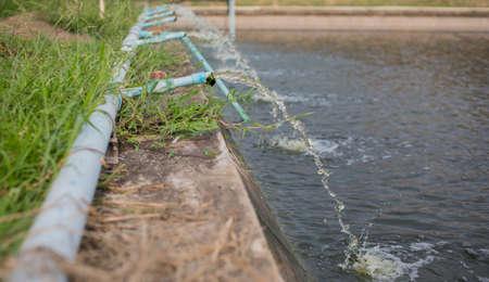 clarifier: Waste water treatment plant
