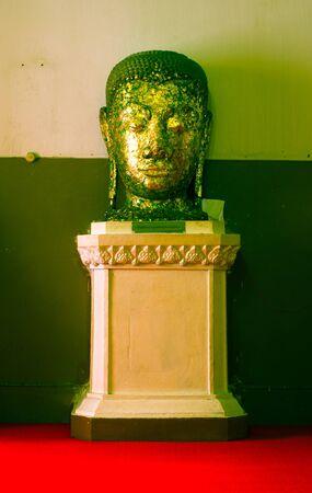 Buddha of Wat Yai Chai Mongkol in Ayutthaya Province  Thailand  Stock Photo