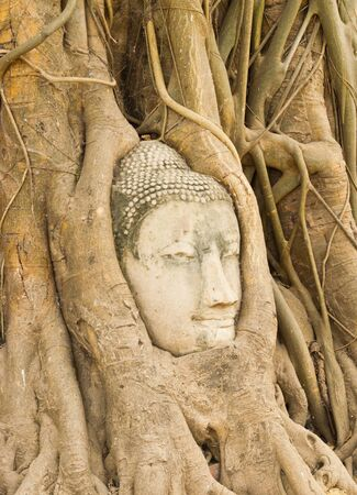 The ancient city of Ayutthaya Stock Photo